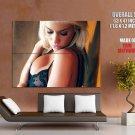 Taylor Seinturier Hot Big Boobs Model HUGE GIANT Print Poster