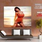Denise Milani Big Boobs Hot Model HUGE GIANT Print Poster