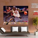 Michael Jordan Caricature Art Nba Huge Giant Print Poster
