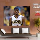 Paul George Indiana Pacers Nba Huge Giant Print Poster