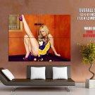 Kayden Kross Lakers Jersey Sexy Hot Model HUGE GIANT Print Poster
