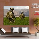 Us Army Soldiers Military Weapon Huge Giant Print Poster