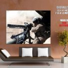 Minigun Helicopter Weapon Military HUGE GIANT Print Poster