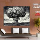 Nuclear Cloud Tree Greenpeace Science HUGE GIANT Print Poster
