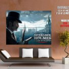 Sherlock Holmes Game Of Shadows Jude Law HUGE GIANT Print Poster