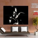 The Artist Jean Dujardin Berenice Bejo BW HUGE GIANT Print Poster