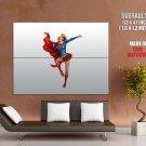 Supergirl Hot Dc Comics Art Huge Giant Print Poster