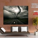 Tornado Twister Cyclone Road Storm HUGE GIANT Print Poster