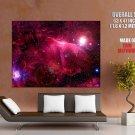 Nebula Space Stars Light Huge Giant Print Poster