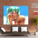 Miku Hatsune Hot Bikini Vocaloid Anime Art HUGE GIANT Print Poster