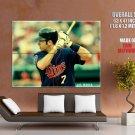 Joe Mauer Minnesota Twins Mlb Sport Huge Giant Print Poster