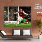 Robin Van Persie Goal Arsenal Football HUGE GIANT Print Poster