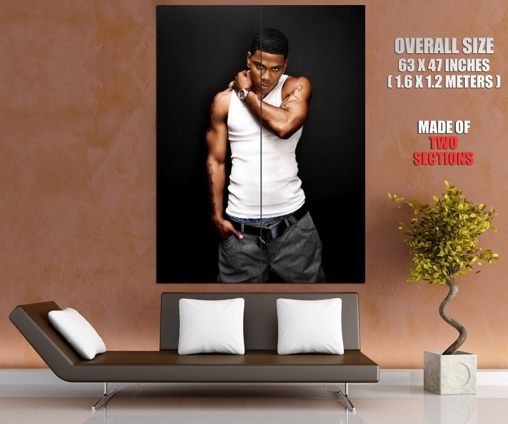 Nelly Cornell Iral Haynes R B Hip Hop Music HUGE GIANT Print Poster