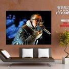 Kanye West Live Rap Hip Hop Singer Music HUGE GIANT Print Poster