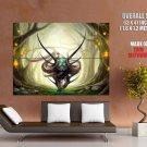 Magic Tiger Animal Fantasy Art HUGE GIANT Print Poster