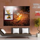 Miami Heat Champions Arena Nba Huge Giant Print Poster