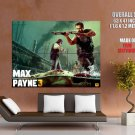 Max Payne 3 Shotgun Video Game Art HUGE GIANT Print Poster