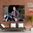 Channing Tatum Motorcycle Movie Actor HUGE GIANT Print Poster