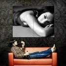 Megan Fox Hot Actress BW Huge 47x35 Print POSTER