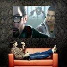 Half Life 2 Gordon Freeman Alyx Hunters Art Huge 47x35 Print POSTER