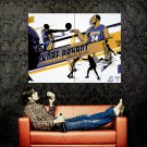 Kobe Bryant Black Mamba Art Lakers NBA Huge 47x35 Print POSTER