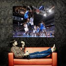 Kevin Durant Monster Dunk Vs Dallas NBA Huge 47x35 Print POSTER