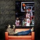 Ben Wallace Block Detroit Pistons NBA Huge 47x35 Print POSTER