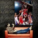 Michael Jordan Layup Bulls Legend NBA Huge 47x35 Print POSTER