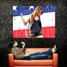 Miley Cyrus Hot Live Singer Music Huge 47x35 Print POSTER