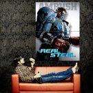 Real Steel Ambush Robot Movie Huge 47x35 Print POSTER