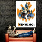 Jeremy Lin New York Knicks Spike Lee Art NBA Huge 47x35 Print POSTER