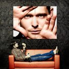 Michael Buble Portrait Hands Music Huge 47x35 Print POSTER