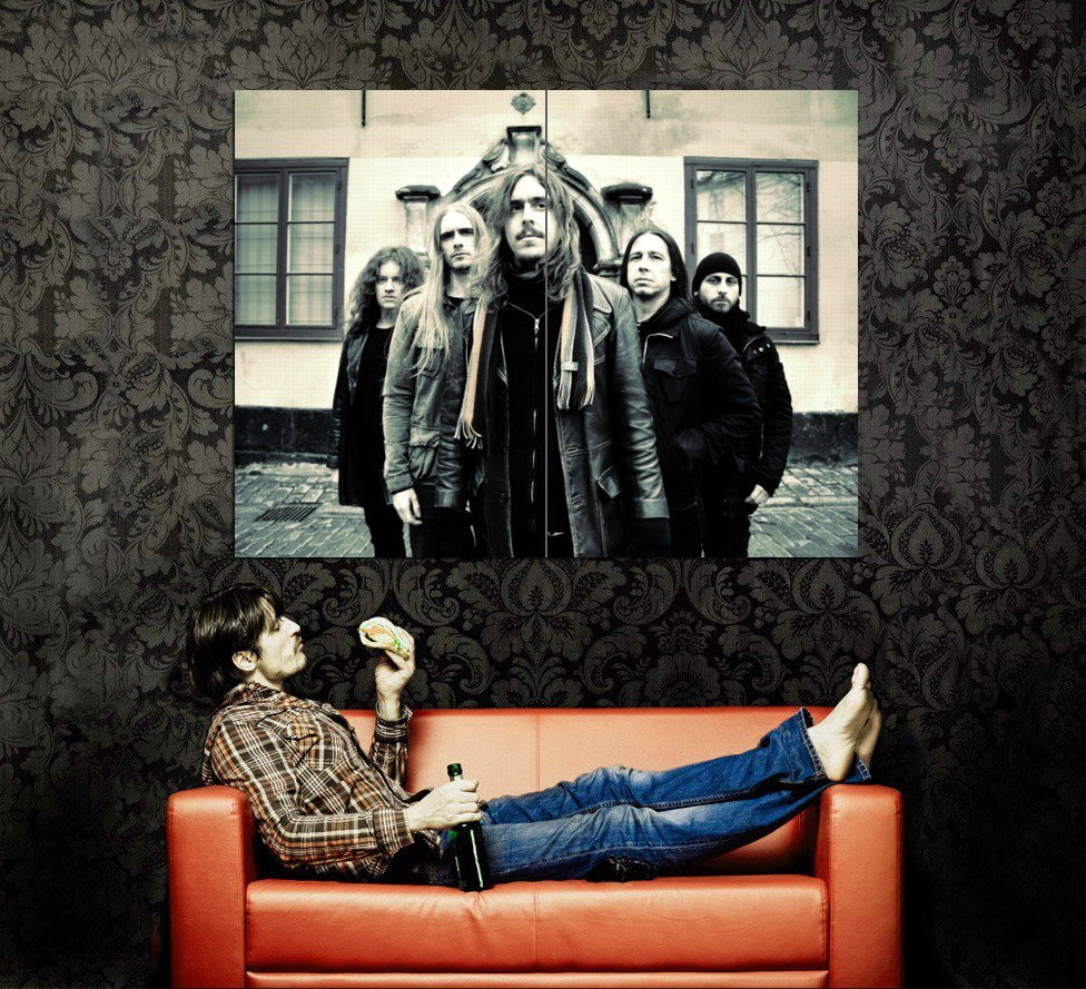 Opeth Progressive Death Metal Rock Music Huge 47x35 Print POSTER