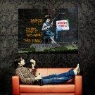 Team Robbo Vs Banksy Street Cred Graffiti Art Huge 47x35 Print POSTER