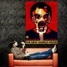 The New World Odor Gas Mask Propaganda Art Huge 47x35 Print POSTER