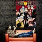 Soul Eater Characters Anime Manga Art Huge 47x35 Print POSTER