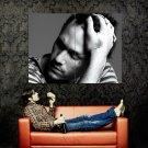 Heath Ledger Tear Actor Portrait BW Movie Huge 47x35 Print POSTER