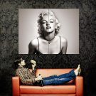 Marilyn Monroe Hot BW Portrait Actress Movie Huge 47x35 Print POSTER