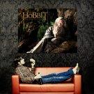The Hobbit An Unexpected Journey Ian McKellen Gandalf Huge 47x35 Print POSTER