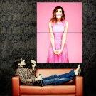 Kristen Wiig Actress Pink Bubblegum Movie Huge 47x35 Print POSTER