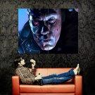 Terminator T 800 Arnold Schwarzenegger Red Eye Art Huge 47x35 Print POSTER