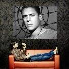 Prison Break BW Wentworth Miller Michael Scofield TV Huge 47x35 Print POSTER