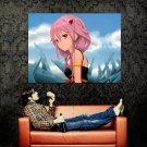 Guilty Crown Inori Yuzuriha Anime Manga Art Huge 47x35 Print POSTER