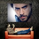 Jared Leto Beard Portrait Rock Music Huge 47x35 Print POSTER