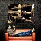 Piston Steam Engine Macro Abstract Huge 47x35 Print POSTER