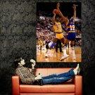 Earvin Magic Johnson Los Angeles Lakers NBA Basketball Huge 47x35 POSTER