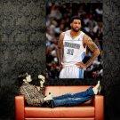 Wilson Chandler Denver Nuggets NBA Basketball Huge 47x35 POSTER