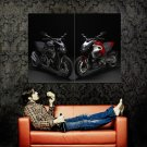 Ducati Diavel Carbon Sport Bike Motorcycle Huge 47x35 POSTER