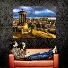 Dugald Stewart Monument Edinburgh Around The World Huge 47x35 POSTER