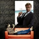 The Mentalist Patrick Jane Simon Baker TV Series Huge 47x35 POSTER